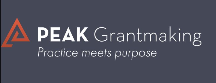 PEAK Grantmaking Insight Journal